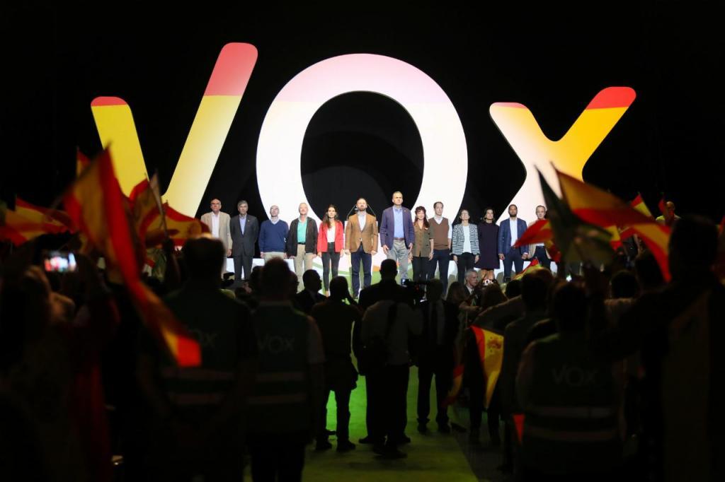 Vox - Espanha - Santiago Abascal