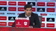 «Benfica fez sete remates na baliza, marcou seis golos»