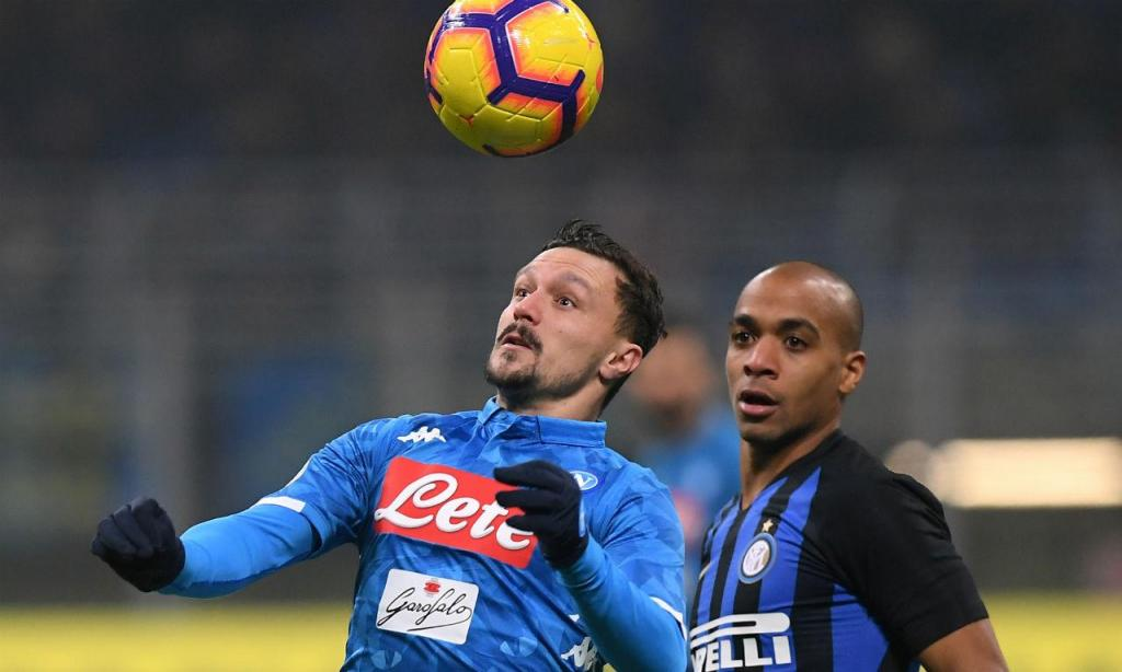 Inter-Nápoles (Alberto Lingria/REUTERS)