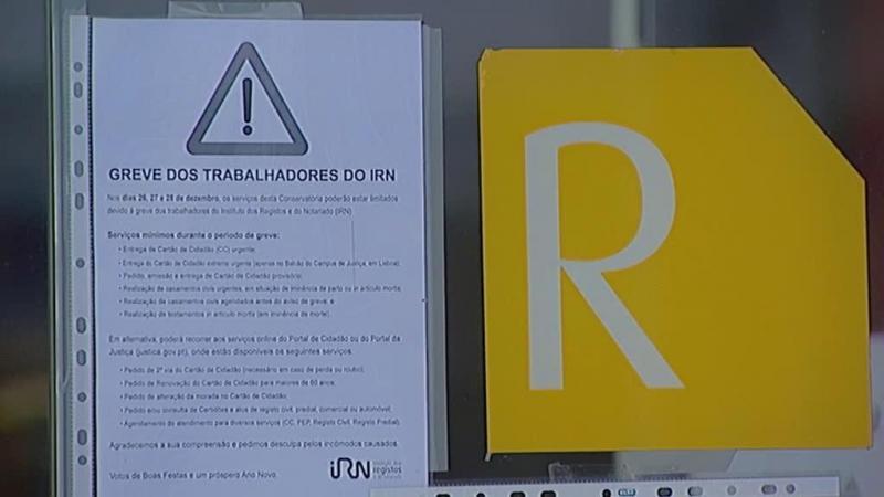 Notariado está em greve pela contratação de mais pessoal
