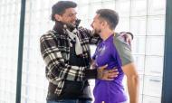 Lucho González visita Olival (Foto: FC Porto)