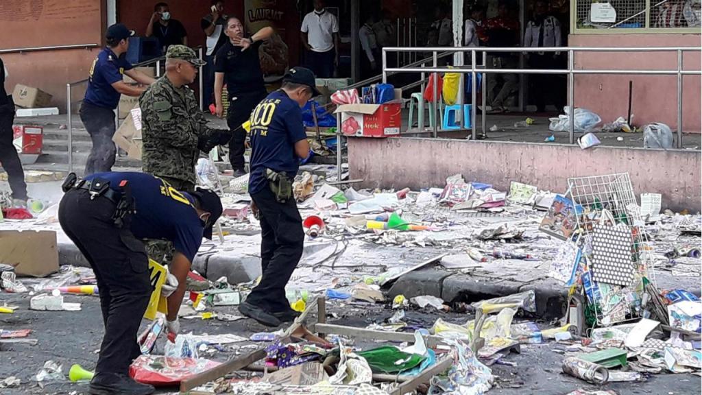 Explosão em Cotabato