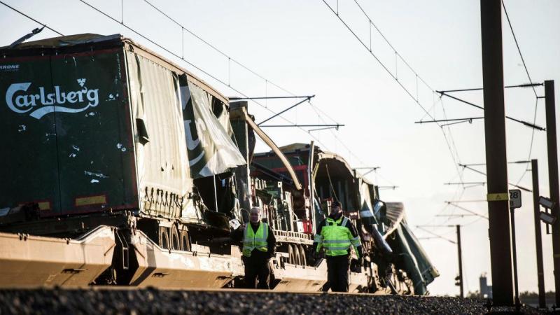 Acidente de comboio na Dinamarca