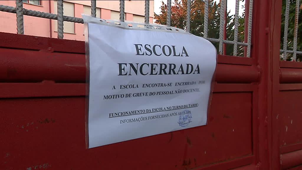 Greve de auxiliares levou ao encerramento de escolas em Sintra
