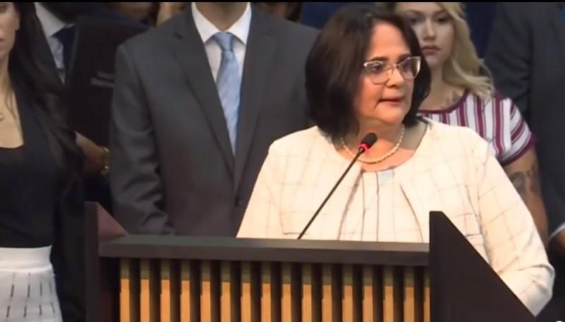 Damares Alves - ministra brasileira da Mulher, Família e Direitos Humanos