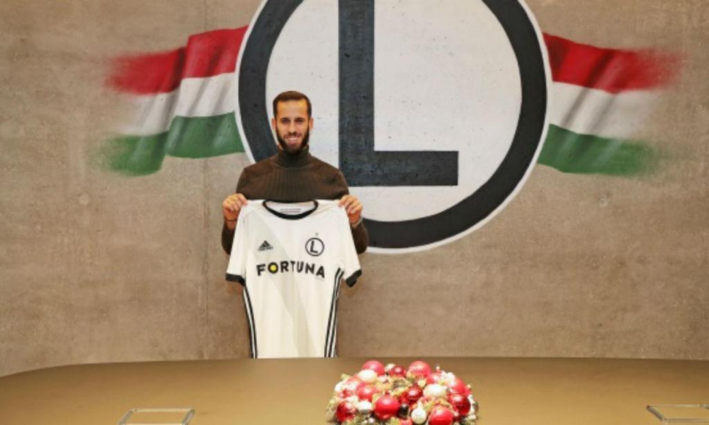 Luís Rocha reforça Legia Varsóvia