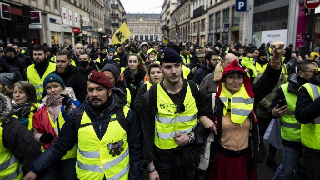 Coletes amarelos em França