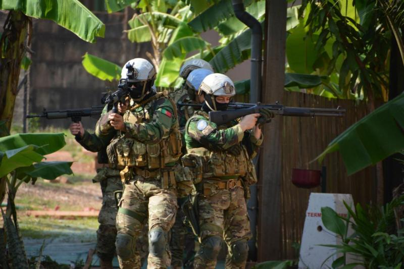 Militares portugueses na República Centro-Africana