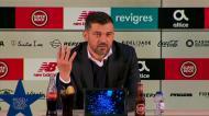 Sérgio Conceição: «Hora dos jogos? Vai ser debatida em reunião na Cidade do Futebol»