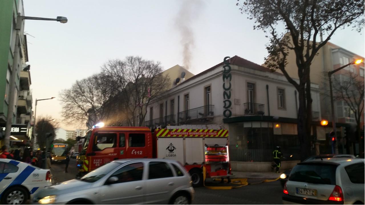 Incêndio no restaurante Edmundo