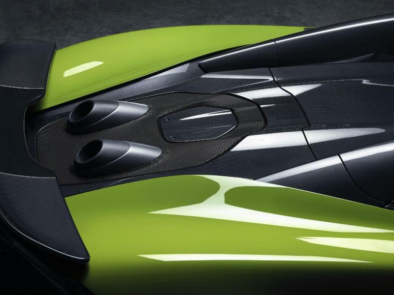 O quinto McLaren Longtail