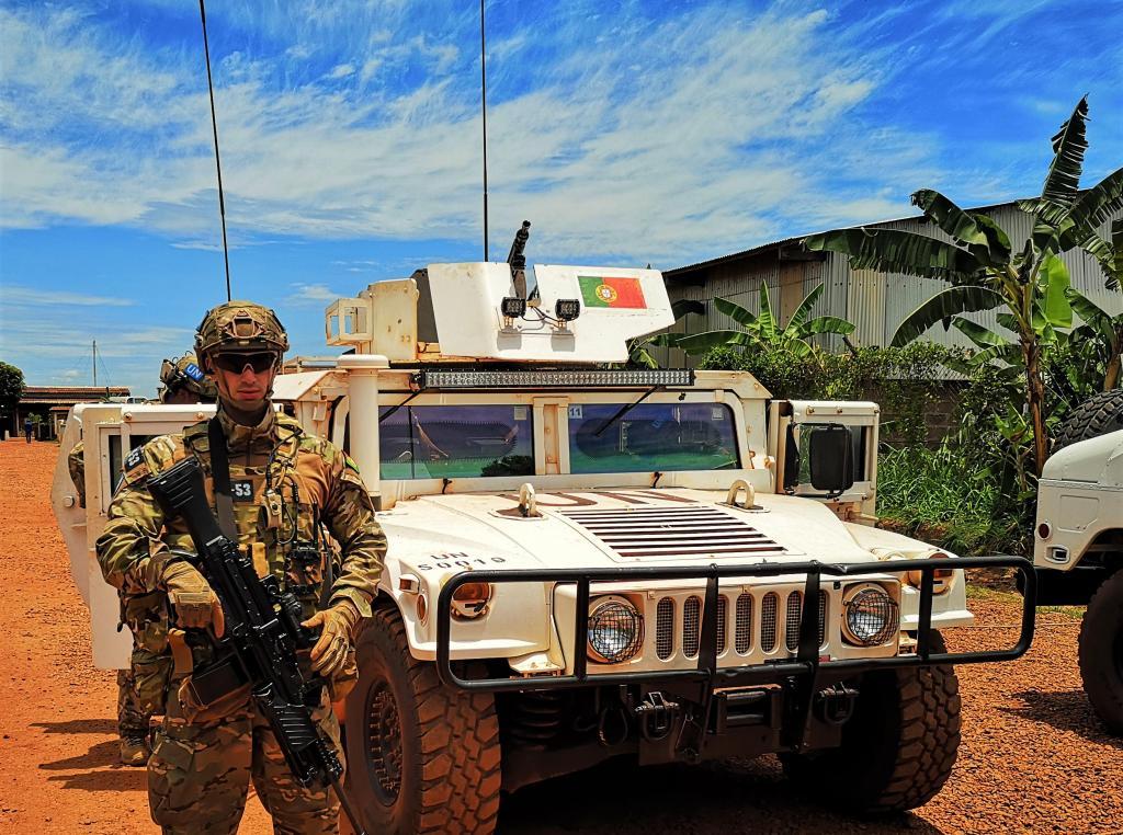 Militares portugueses na República Centro-Africana chamados a travar assalto a Bambari