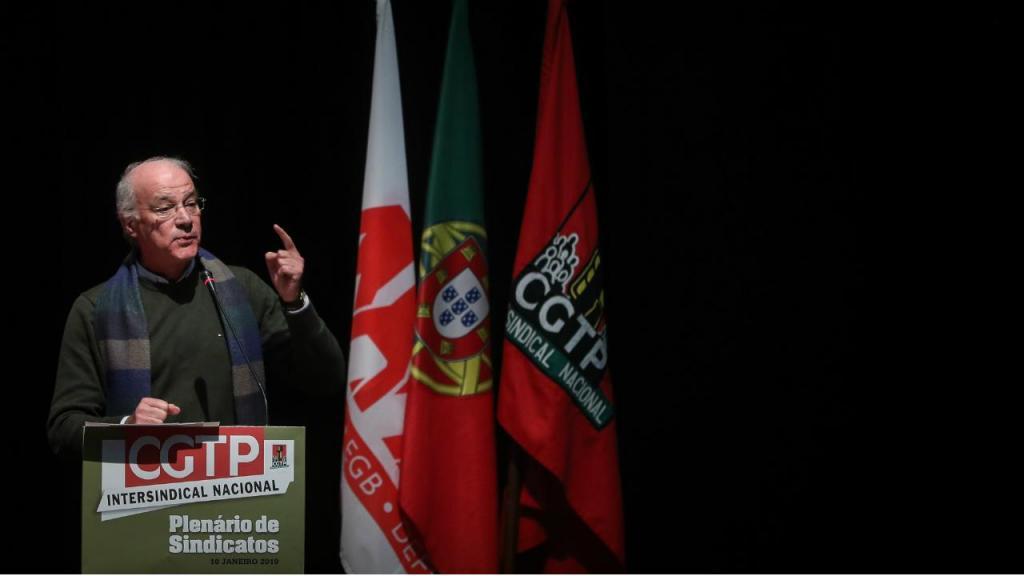 Secretário-geral da CGTP-IN, Arménio Carlos