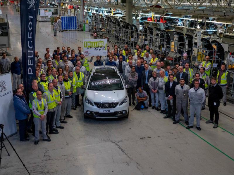 Peugeot 2008 n.º 1.000.000