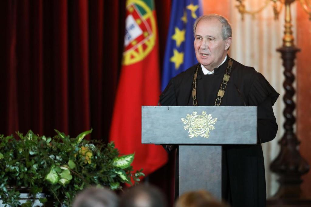 Presidente do Supremo Tribunal de Justiça, António Piçarra, na abertura do Ano Judicial