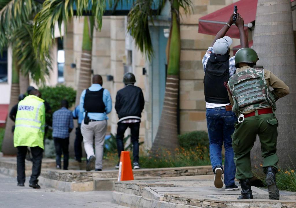 Ataque em hotel de luxo em Nairobi