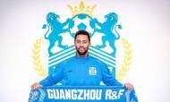 Moussa Dembelé - foto twitter Guanzhou