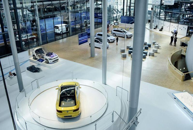 Fábrica Transparente da Volkswagen