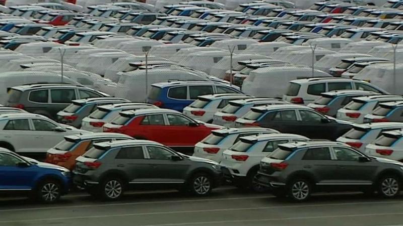 Carros da Autoeuropa