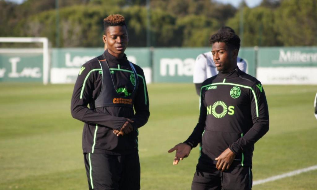 Idrissa Doumbia já treinou no Sporting