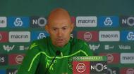 Marcel Keizer: «Espero que os jogadores fiquem»