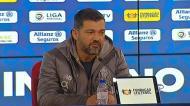 «Sinto que o FC Porto foi muito mais forte na primeira parte»