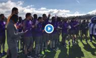 Jogadores do FC Porto cantaram as Janeiras