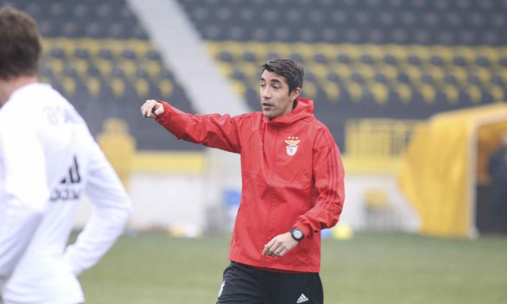 Bruno Lage orienta o treino