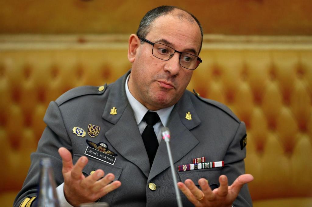 Comandante do Regimento de Engenharia n.º 1 (RE1), Leonel Martins