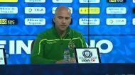«Só amanhã podemos saber se Mathieu entra no onze inicial»