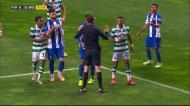 Sporting pediu penálti por mão de Herrera