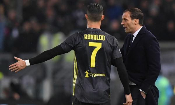 Allegri e o Atl. Madrid  «Ter Ronaldo connosco é uma grande vantagem» 8ab597baa60