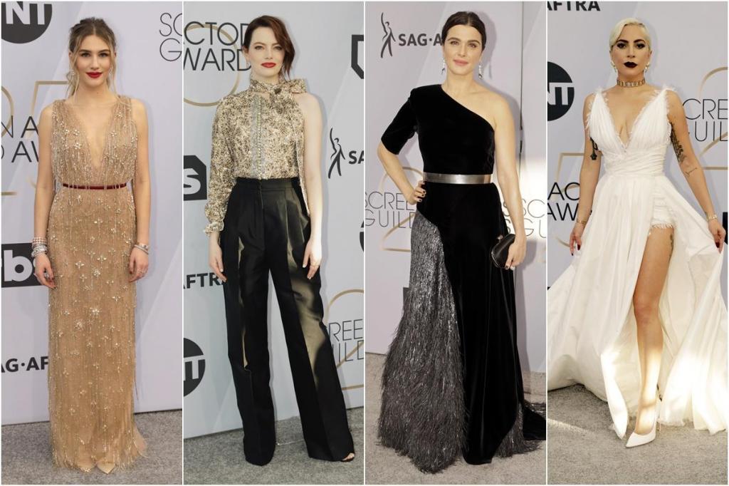 Os looks da noite dos SAG Awards