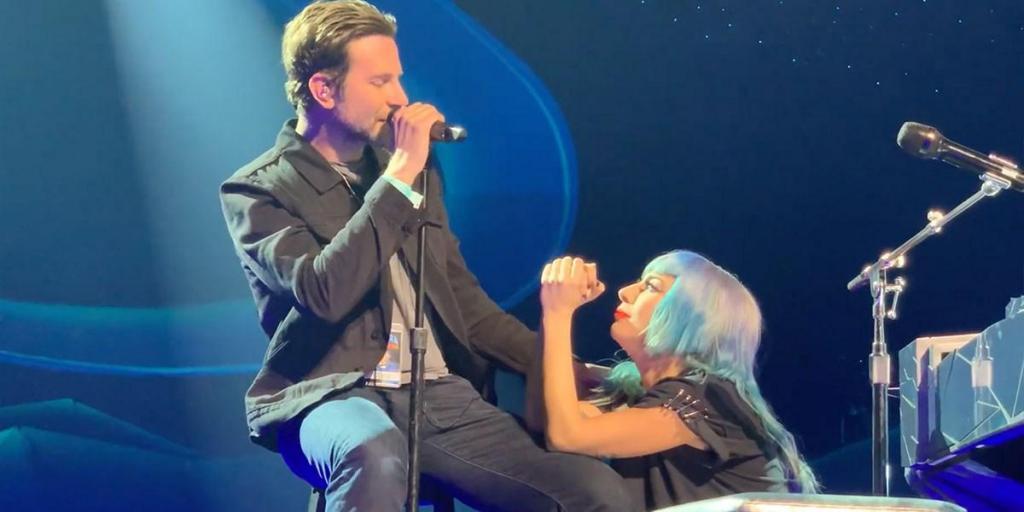 Lady Gaga e Bradley Cooper em Las Vegas