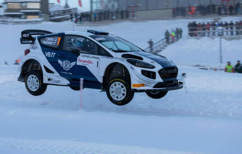Valtteri Bottas (Arctic Lapland Rally)
