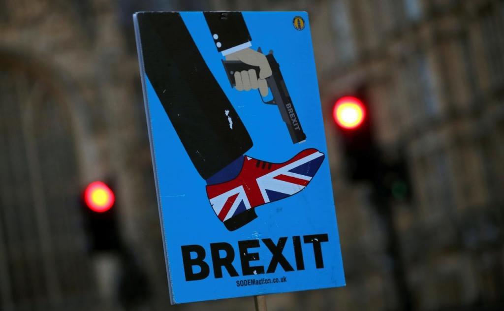 Protestos contra o Brexit