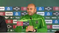 «Os jogadores sentem-se felizes pela conquista da Taça da Liga»