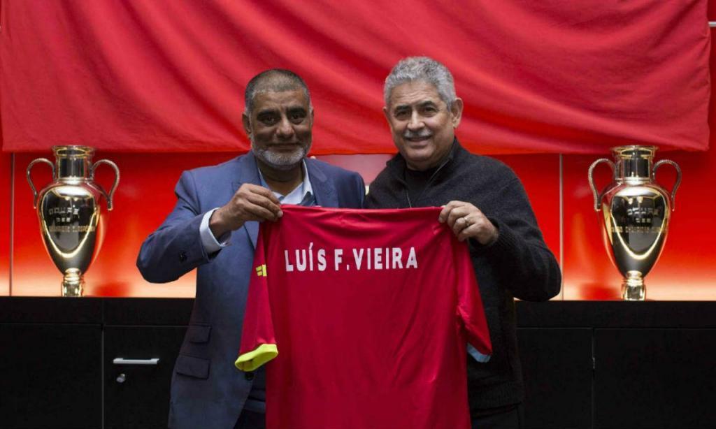 Benfica assina parceria com a Liga Desportiva de Maputo (site Benfica)