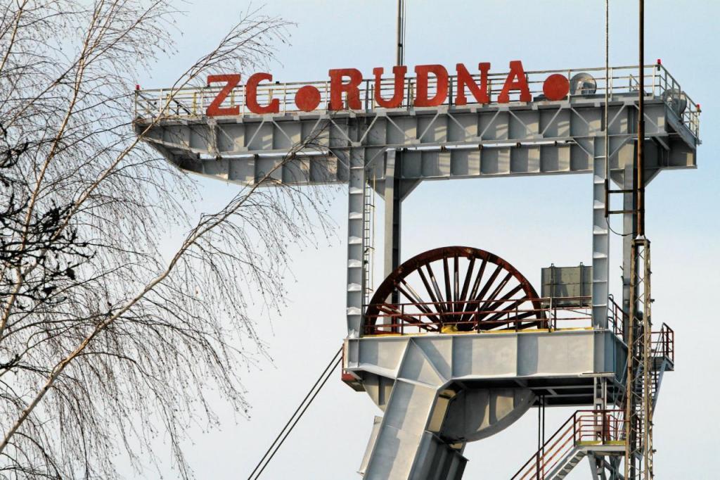 Mina de cobre Rudna - Polónia
