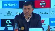 Sérgio Conceição e o mercado: «Estive com o Presidente e abordámos uma ou outra situação»