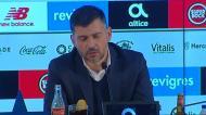 Sérgio Conceição: «Hoje o Óliver esteve um bocadinho adiantado em relação aos jogos da Final Four»