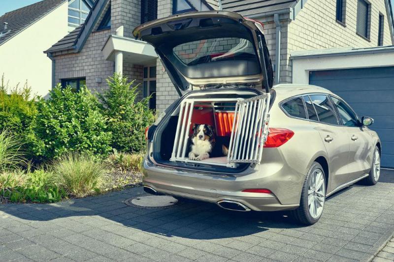 Nova casota para transporte de cães da Ford