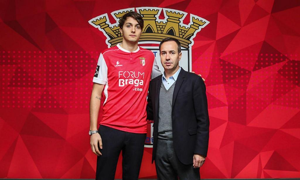 Edoardo Soleri (site oficial do Sp. Braga)