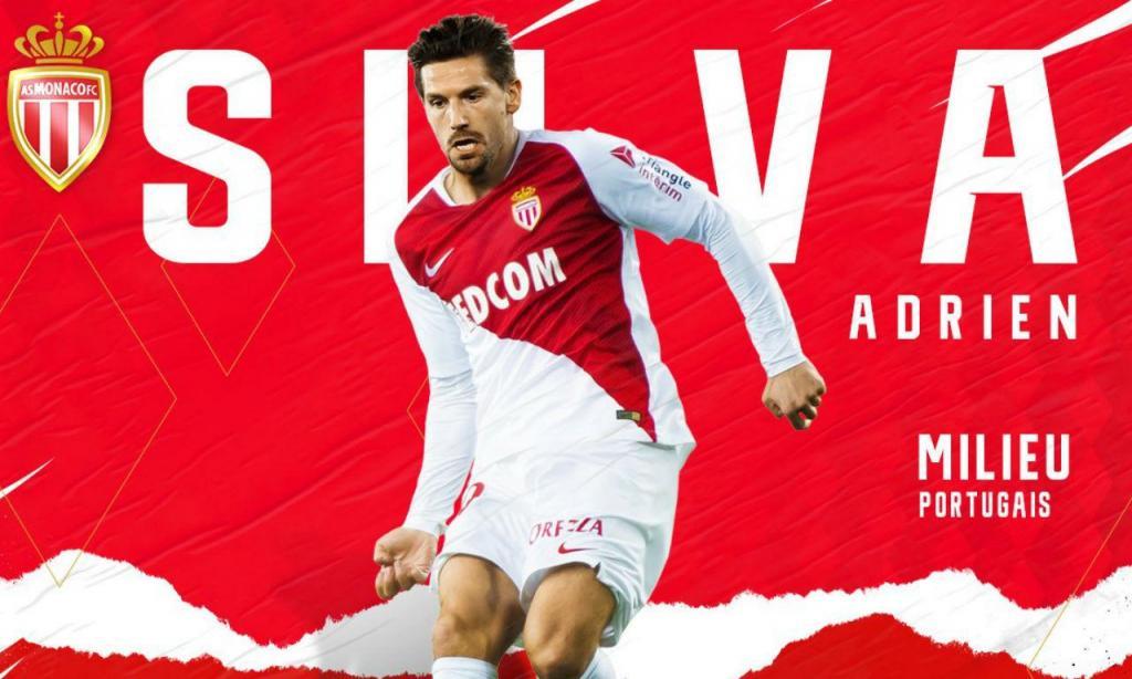 Adrien Silva (twitter Mónaco)