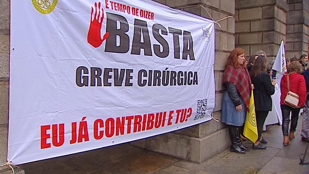 Enfermeiros: adesão à greve cirúrgica rondou os 90%