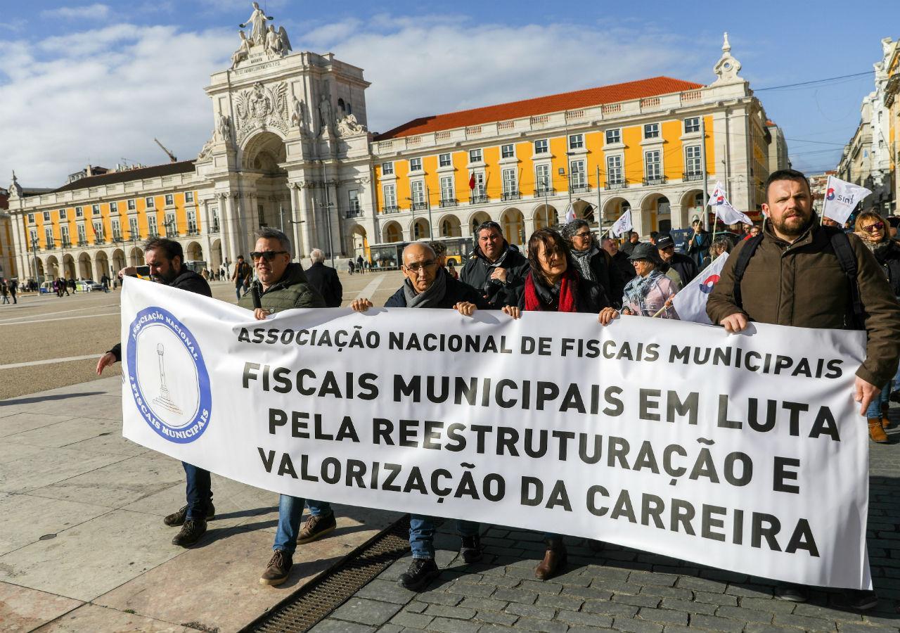 Manifestação dos fiscais municipais