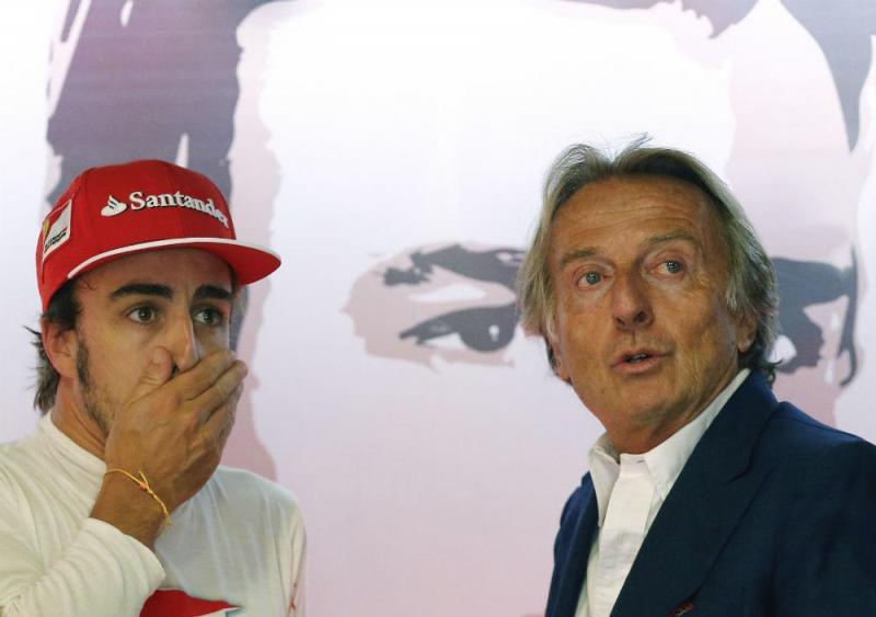 Fernando Alonso e Luca Di Montezemolo (Reuters)