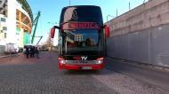A chegada do Benfica a Alvalade