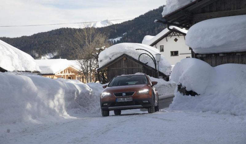 Conduzir na neve