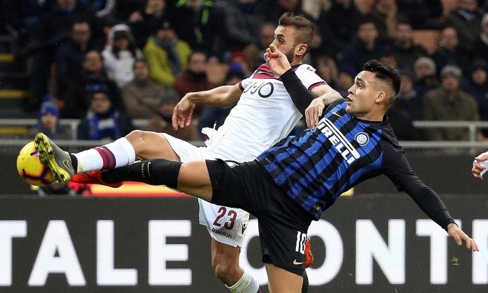 Inter perde com Bolonha na estreia de Cédric a titular